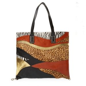 ❣️2x HOST PICK❣️MARC JACOBS Animal Patchwork Tote